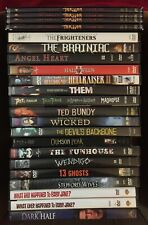 Semi-Rare Horror DVD Lot - Pick/Choose from List - Scary/Gory/Halloween Movies!
