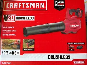 Craftsman V20 Axial Blower Kit with 4.0ah battery
