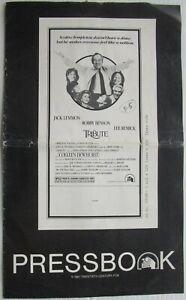 TRIBUTE 1980 press book John Lemmon