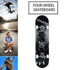 Skateboard Deck Komplettboard Funboard Holzboard komplett 80x20cm Ahornholz DHL