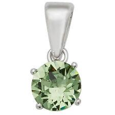 Collares y colgantes de bisutería colgantes color principal verde