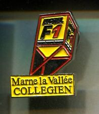 RARE PINS PIN'S .. TOURISME HOTEL ACCOR F1 COLLEGIEN MARNE LA VALLEE 77 ~CV