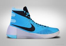NIKE HYPERDUNK 2015 Homme Hi Top Lagon Bleu Pure Platinum UK 12.5 EU 48 US13.5