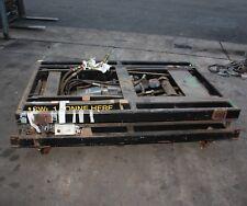 Parker Hydraulic Scissor Lift 1000KG Lift Capacity Trolley Dolly Platform dual