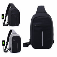 For Nintendo Switch Backpack Travel Crossbody  Bag Protective Case USB Charging