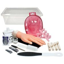 MP-DL-C194 SALON BEAUTY DL PRO STUDENT MANICURE PEDICURE NAIL HAND TRAINING KIT