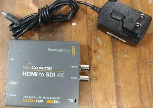 Blackmagic Design Mini Converter HDMI to SDI 4K w/ Power supply