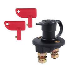 12V  Universal Battery Master Isolator Switch Cut Off Heavy Duty Power  +2 Key