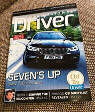BMW 730Ld M Sport - PROFESSIONAL DRIVER MAGAZINE Nov. 2015 - UK Seller