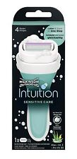 Wilkinson Sword Intuition Sensitiv Damen Rasierer One Step Schaum & rasieren