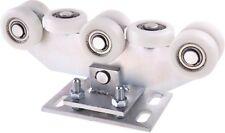 Rollenbock Schiebetorlaufwerk Laufwagen  für Profile 80x80x5 Polyamid WZ.8WR.80P