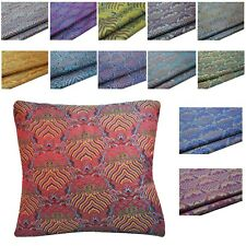 Pillow Cover*Chinese Rayon Brocade Throw Seat Pad Cushion Case Custom Size*BD1