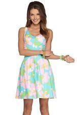 Lilly Pulitzer Lexington Mojo Dress Blue 100% Cotton 630306538619 New 68529 $198