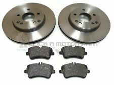 Mercedes SLK R170 230 Kompressor Comline Rear Brake Discs /& Pad Set