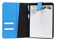 Felex Schreibmappe A4 schwarz Konferenzmappe Vertretermappe Dokumentenmappe