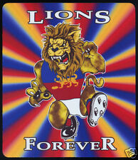 1  x BRISBANE LIONS OR OTHER AUSSIE RULES MOUSE MAT / SMALL PLACE MAT
