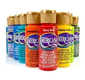Acrylique Americana (DecoArt) - 59ml - Nuances Jaunes