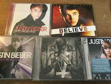 Justin Bieber [5 CD Alben] My Worlds + Under the Mistletoe + Believe + Purpose