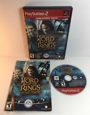 PS2 The Lord Of The Rings The Two Towers ( Sony PlayStation 2 )