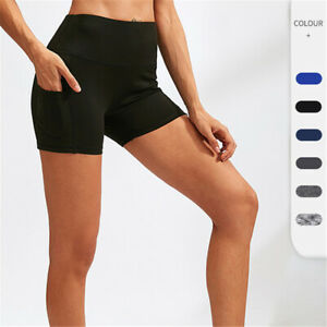 Women Shorts Compression Soft Cool Dry Sport Tight Workout Training Short Pant