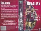 RUGBY LEAGUE ~THE RIVALRY OVER 20 YEARS OF STATE OF ORIGIN~ VHS VIDEO PAL~ RARE