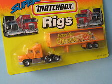 Matchbox Convoy Ford Box Truck Honey Nut Cheerios in USA BP