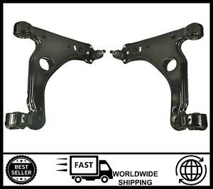 Pair Front Axle Lower Wishbone Arms FOR Vauxhall / Opel Astra H & Zafira