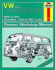 Haynes Owners Workshop Manual VW Transporter 1600 1968-1979 SERVICE REPAIR KOMBI