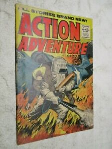 Action Adventure #4 October 1955 Last Issue