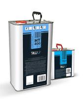 Kit 7,5L T4W Ht 400 Resistente a Arañazos Lacado Acrílico 5L Barniz Claro + 2,5