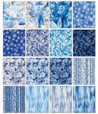 Winters Pearl by Kanvas Studio; 42 10-inch Squares - Benartex