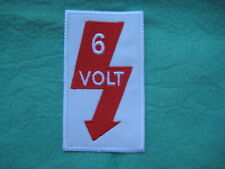 "6 Volt VW Volkswagen Rat Rod Patch 2 1/4"" X 3 7/8"""