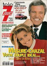 Télé 7 Jours N° 1982/1998 - Masure Chazal Goldman Line Renaud V. Jannot