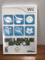 Big League Sports (Nintendo Wii, 2008) Video Game