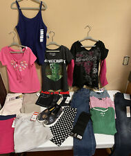 girls clothing lot size 7-8