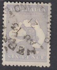 AUSTRALIA :1915 6d dull-blue  die II  SG 38b used