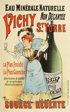 Art déco reproduction Eau Vichy Style Vintage Poster Publicité A3 NEUF