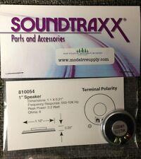 "Soundtraxx 810054 1"" Round Speaker (28mm) 8 ohm  MODELRRSUPPLY"