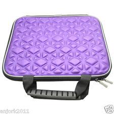 "Nylon Carrying Bag for 10.1"" Tablet Laptops iPad iPad 2 / 3 Purple"
