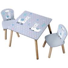 KESPER Kindertisch 2 Stühle Spieltisch Tisch Kleinkindertisch ALPAKA Tisch NEU