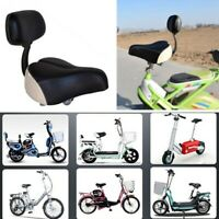Universal Tricycle Mountain Bike Electric Vehicle Saddle Seat Pad with Back T4T0