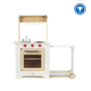 E3126 HAPE Cook 'n Serve Wooden Kitchen [Playfully Delicious] Children Age 3yrs+