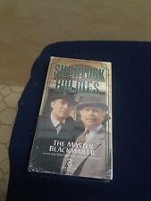 Sherlock Holmes The Master Blackmailer VHS Jeremy Brett 1993 Edward Hardwicke