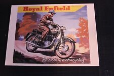 Art Card Royal Enfield for modern motorcycling