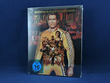THE RUNNING MAN Steelbook Bluray Arnold Schwarzenegger Paul Michael Glaser *NEW*