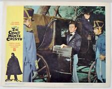 "Vintage ""The Count Of Monte Cristo"" Original Lobby Card 1962 11X14"