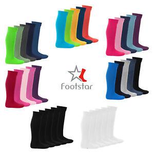 Footstar Kinder Kniestrümpfe (5 Paar), Lange Socken für Mädchen und Jungen