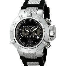 New Invicta Men's 1380 Subaqua Noma III Chronograph Black Dial Watch