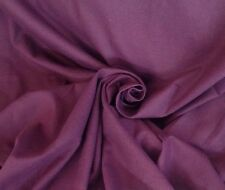 10 Metres Laura Ashley Cotton Linen Weave Aubergine Curtain & Interior Fabric
