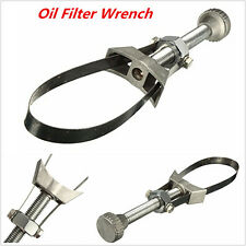 Car Truck Oil Filter Removal Tool Strap Wrench 60mm to 120mm Diameter Adjustable